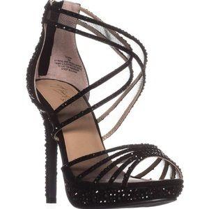 Thalia Sodi 4.75 Inch Peep Toe Heels!